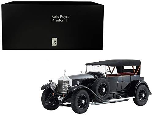 Kyosho Rolls Royce Phantom I Black with Red Interior 1/18 Diecast Model Car