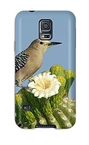 MeaganSCleveland Galaxy S5 Hybrid Tpu Case Cover Silicon Bumper Bird