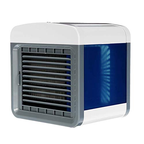 Opef USB Mini Portable Air Conditioner, Desktop Air Cooler Personal Refrigerator for Office Room