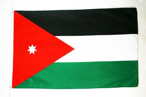Bandera Jordana 60 x 90 cm AZ FLAG Bandera de Jordania 90x60cm