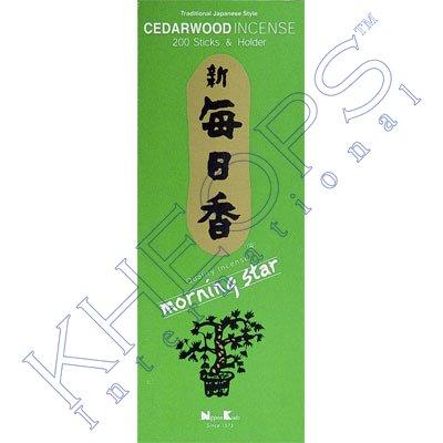 Morning Star Incense 200 sticks Cedarwood (each)