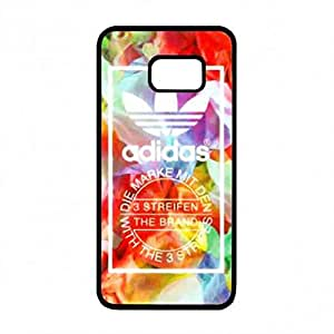 Visual Luxury Cover funda Adidas Logo Phone funda For Samsung Galaxy S6 Edge Plus[S6 Edge Plus] Adidas Back Cover - Nike21