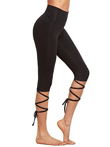 SweatyRocks-Womens-Leggings-Active-tight-Workout-Yoga-Slim-Fitness-Pants