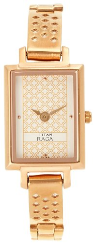Titan Raga analog Multi Color Dial Women's Watch NM2496WM01/NN2496WM01