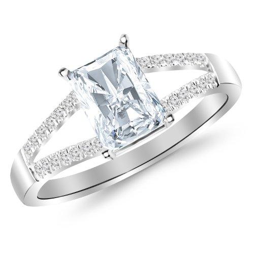 0.79 Ct Radiant Diamond - 2