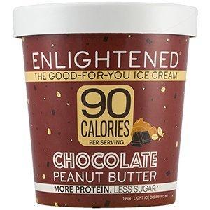 Enlightened Chocolate Peanut Butter Ice Cream Pint, 16 fl oz (Frozen) (Best Chocolate Peanut Butter Ice Cream)