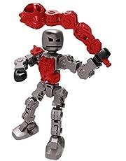 KLIKBOT Skurk actionfigurer – stoppa rörelse animering leksak (trash)