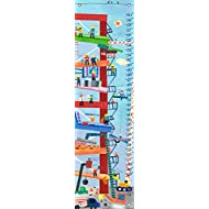 Oopsy Daisy Construction by Jill McDonald Growth Charts, 12 by 42-Inch