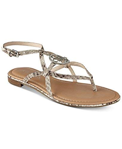 G by GUESS Womens Romie3 Open Toe Casual Ankle Strap, Multicolor, Size 5.5 (Guess Sandals Ankle Strap)