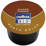 100 Capsules Café Crema Dolce Lavazza blue