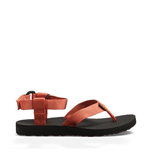 Teva Women's Original Ankle Strap Sandal, Terra Cotta, 8 M US