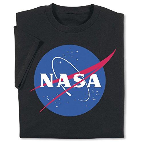 (ComputerGear NASA T Shirt Space Science Engineer Geek Nerd Officially Licensed Black 2X )