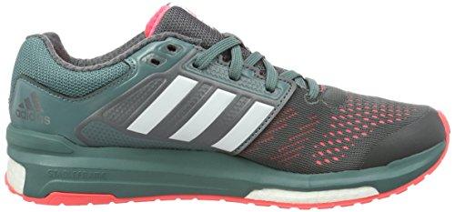 adidas Boost Venganza 2Zapatilla de Running - granite/vista green s14/flash red s15