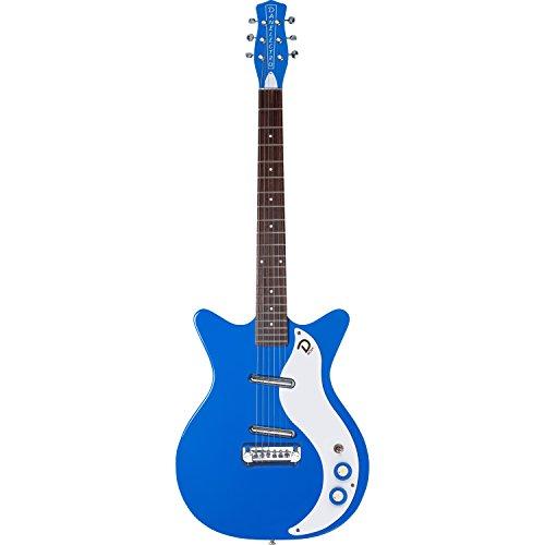 - Danelectro '59M NOS+ Double Cutaway Electric Guitar (Blue)