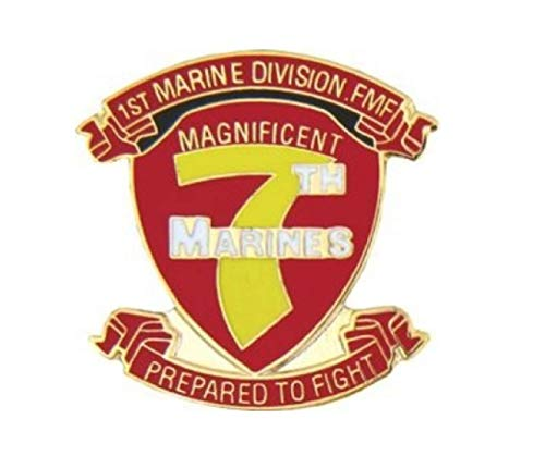 (HMC Marine 7th Regiment Lapel Pin - 15795 (1 inch))