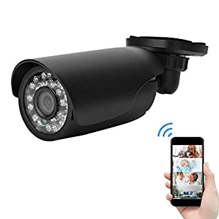 1080P Home Security Surveillance Camera -AHD CCTV Camera Set Outdoor/Indoor IP66 Waterproof Security Camera for Home with 24 LED for Night Vision Black(NTSC)