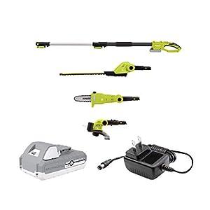 Snow Joe GTS4002C 24-Volt Cordless Lawn Care System (Hedge, Pole Saw, Grass Trimmer)