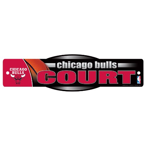WinCraft NBA Chicago Bulls Sign, 4.5 x 17-Inch by WinCraft