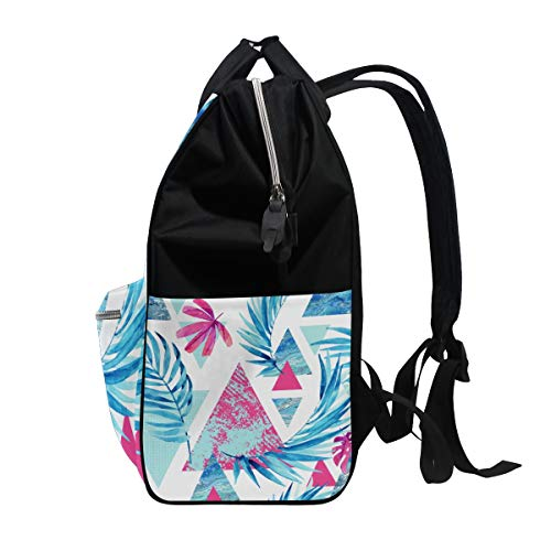 Muti Large Backpack Hylaea Canvas Women Bag Floral Bag for Mummy Function Travel Capacity Multi3 nfqf416xw