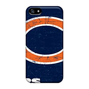 YzE3561hrCQ Tpu Case Skin Protector For Iphone 5/5s Chicago Bears With Nice Appearance