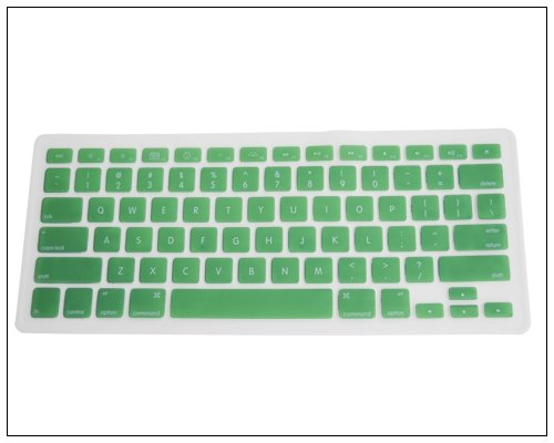 Generic Green Keyboard Silicone Cover Skin for MacBook/MacBook Pro 13-Inch, 15-Inch, 17-Inch Aluminu - coolthings.us