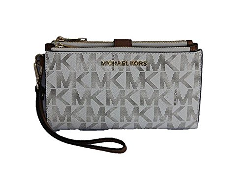 65557874f038 Michael Kors Jet Set Travel double Zip Wristlet - - Import It All