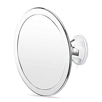 Charmax 65 Inch Large Fogless Shower Mirror Bonus Razor Holder No Fog Shaving