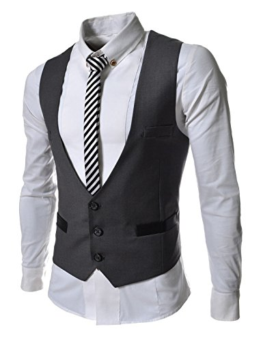 TLV1-TheLees-Mens-Business-Slim-fit-3-Button-Vest-Waist-Coat