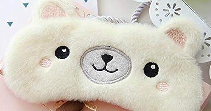 T yzag 2 pezzi sleep protezione degli occhi nuovo alce orso cartone