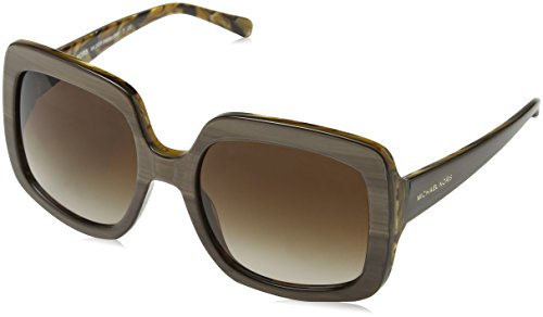 Michael Kors Women's Harbor Mist Bronze/Smoke Gradient Sunglasses