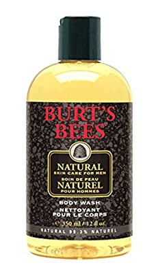Burt's Bees Natural Skin Care for Men Body Wash - 12 oz