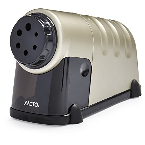 - X-ACTO High Volume Commercial Electric Pencil Sharpener, Model 41, Beige