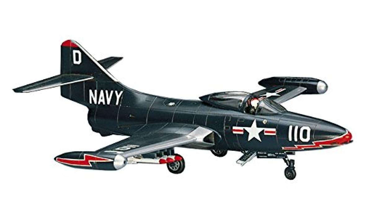 [해외] 하세가와 1/72 미국 해군 F9F-2 팬서 프라모델  B12