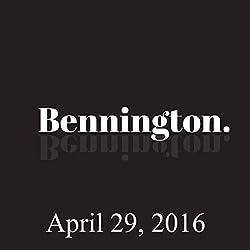 Bennington, April 29, 2016