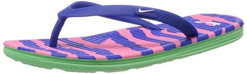 Nike Zapatillas Mujer Solar Soft Thong II Print Game Royal/Wht-PNK GLW-LCD estructurará