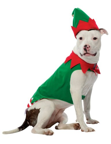 Elf Dog Pet Pet Costume - X-Large