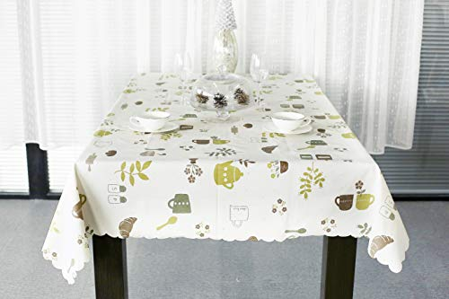 Importitall & Lavin Tablecloth PVC Wipe Clean Table Cloth Waterproof Oil - Import ...