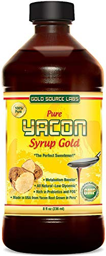 Pure Yacon Syrup Gold