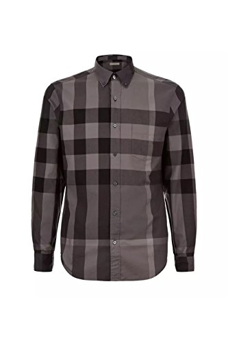Burberry sleeve charcoal exploded button product image