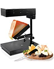 Dana Trading Company NUTRICHEF Electric Raclette Cheese Melter Machine, White, One Size (PKCHMT18)