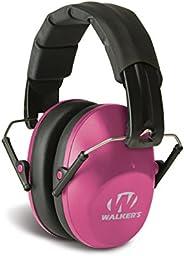 Walkers Game Ear GWP-FPM1-PNK Walker's Low Profile Folding Muff ()