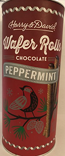 Harry and David Wafer Rolls- Chocolate Peppermint