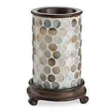 Pearl Glass Mosaic Illumination Fragrance Warmer by Candle Warmers