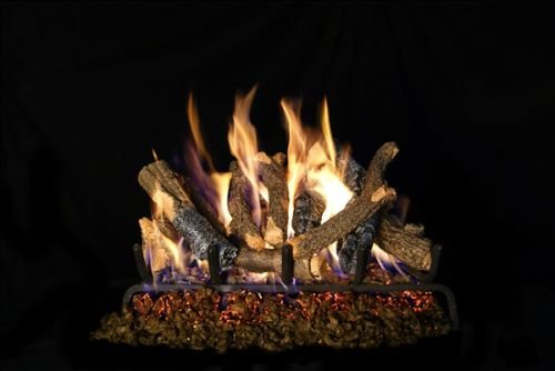 Charred Oak Stack (Standard Charred Oak Stack Gas Logs - 30 Inch)