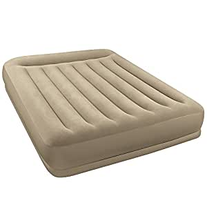 Intex Pillow Restmid - Cama de aire, 152 x 203 x 38 cm, con bomba 220-240 V