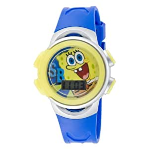 Nickelodeon Kids' SBP040T Sponge Bob gift tin set Watch