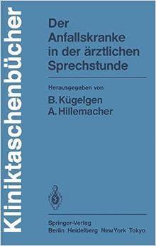Book Der Anfallskranke in der ärztlichen Sprechstunde (Kliniktaschenbücher)