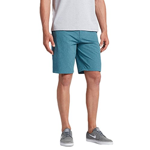 Slim Fit Walkshort - Hurley Men's Phantom Boardwalk Short Smokey Blue Shorts