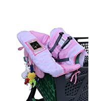 Hi Mom 2 in 1 Baby shopping Cart Cover for supermarket or high chair, choose ...