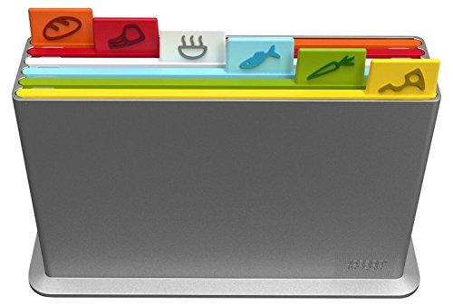 Joseph Joseph - Index Advance Chopping Board Set - 6 Pieces - Multi-Colour